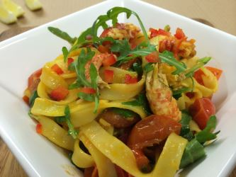 crayfish-with-tagliatelle